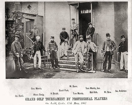 Grand Golf Tournament byProfessional Players 17th May 1867 by Unknown