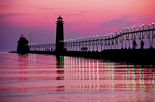 Dennis Cox - Grand Haven light