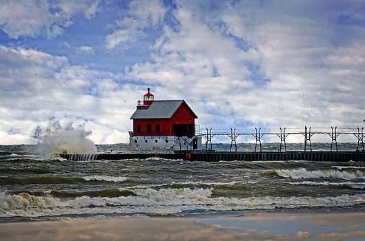 Grand Haven Splash by Cheryl Cencich