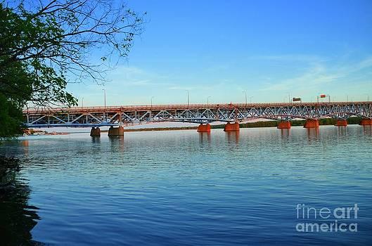 Grand Island Bridge 2 by Kathleen Struckle