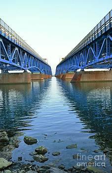 Grand Island Bridges by Kathleen Struckle
