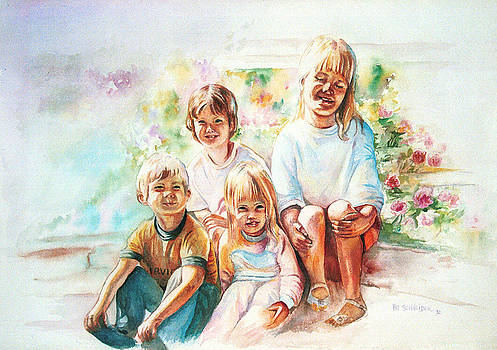 Patricia Schneider Mitchell - Grand Kids