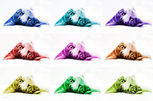 Andee Design - Grand Kitty Cuteness Pop Art 9