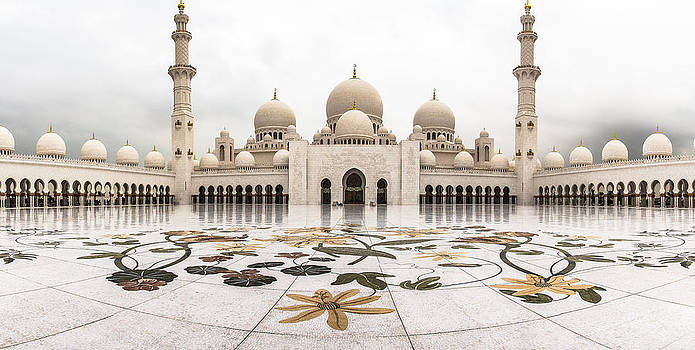 Grand Mosque by Steve Burns