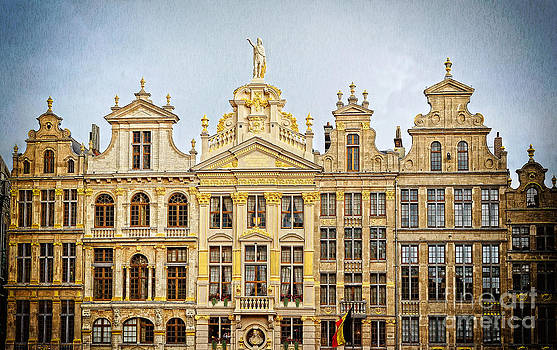 Grand Place of Brussels.  by Skyfish Images