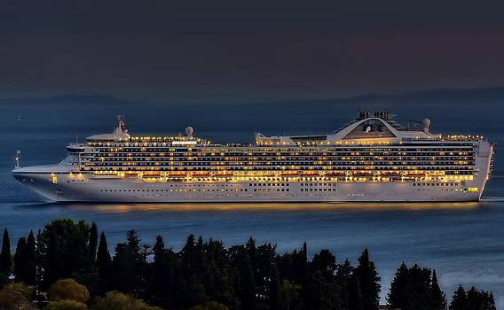 Grand Princess by Ships in Split