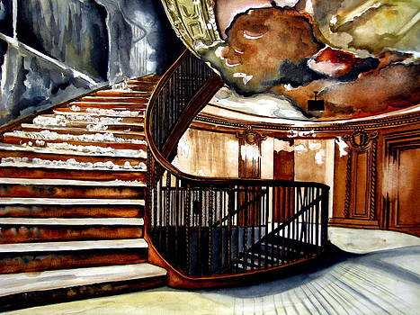 Grand stairs by Emmanuel Turner