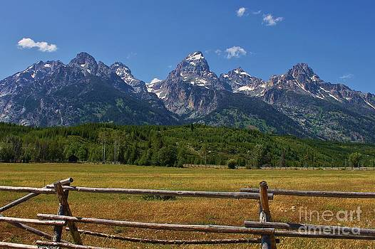 Grand Teton National Park by Bernard MICHEL