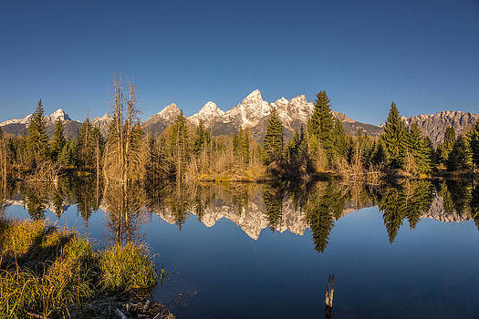 Randy Straka - Grand Teton Reflection at Shwabacher
