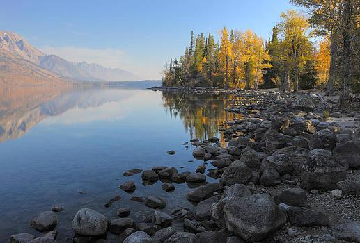 Grand Teton sunrise by Johan Elzenga