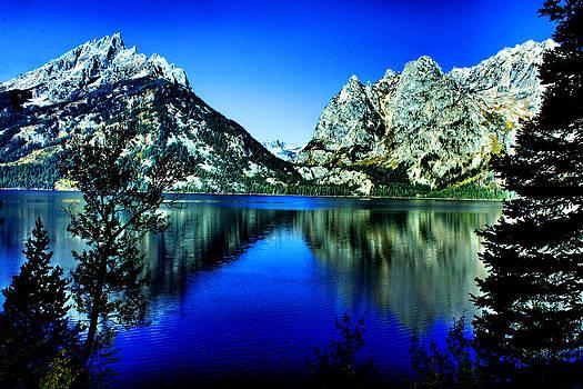 Matthew Winn - Grand Tetons at Jenny Lake
