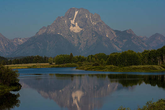 Randall Branham - Grand Tetons Early Reflections