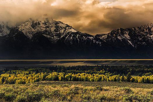 Paul W Sharpe Aka Wizard of Wonders - Grand Tetons Fall Storm