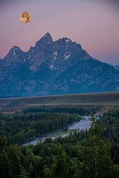 Randall Branham - Grand Tetons Super Moon