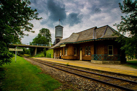 Edser Thomas - Grand Trunk Railway Depot - St. Marys - Digital Oil