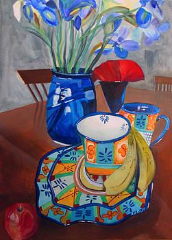 Grandma's New China by Randy Bell