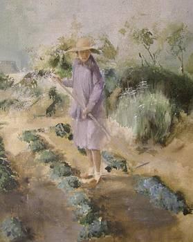 Grandmother Margaret's Garden by Terri Ana Stokes