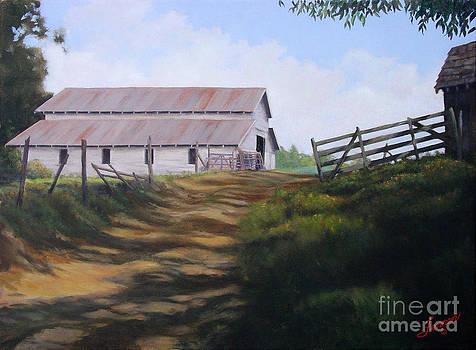 Grandpa Blanchard's Hay Barn by Charles Fennen