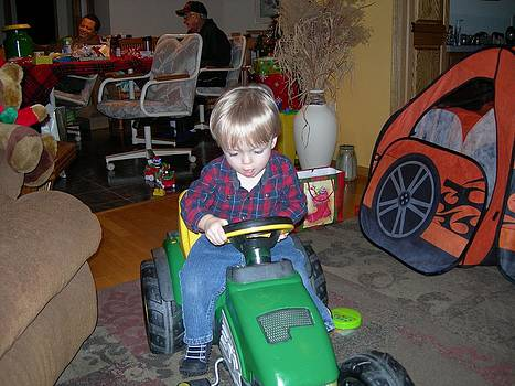 Grandpa Has a John Deere Too by Randy Rosenberger