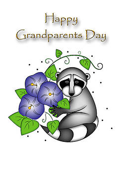 Jeanette K - Grandparents Day Raccoon