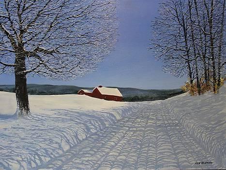 Grandpa's farm by Ken Ahlering