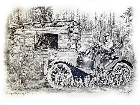Grandpas Hunting Shack by Jonni Hill
