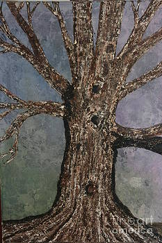 Grandpas OAK TREE by Donna Jeanne  Carver