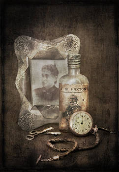 Grandpa's Watch With Grandma's  Hair by Jim Larimer