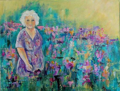 Granny's Garden by Maureen Pisano
