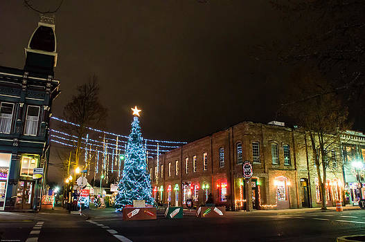 Mick Anderson - Grants Pass City Christmas Tree