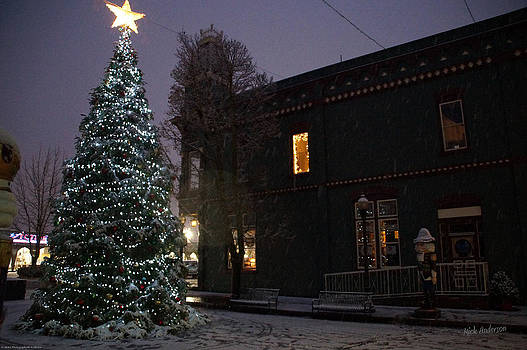 Mick Anderson - Grants Pass Town Center Christmas Tree