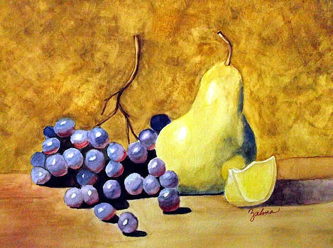 Grapes and Pears by Zelma Hensel
