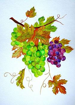 Grapes by Elena Mahoney
