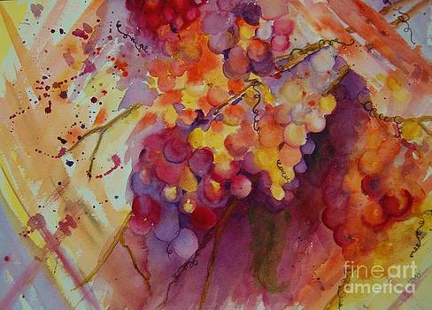 Grapes by Henny Dagenais