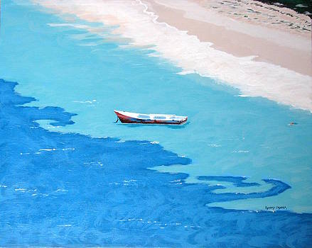 Grapetree Bay by Robert Crooker
