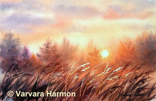 Grass Lace by Varvara Harmon