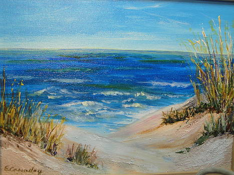 Grasses and Sands of the Sea by Evelyn Cassaday