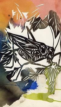 Alfred Ng - grasshopper papercut