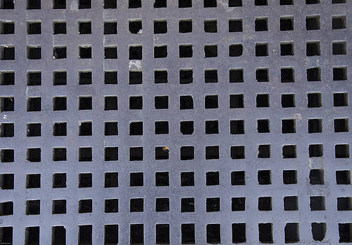 Grate Texture Downtown Hendersonville North Carolina by Wesley Corn