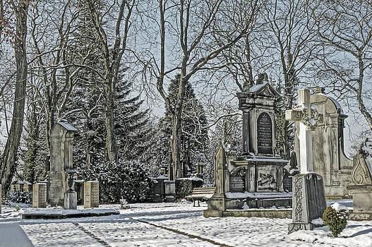 Alexander Drum - grave wintry