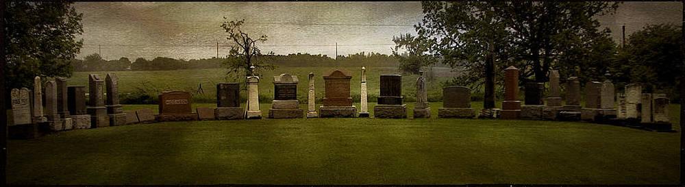Laura Carter - Graveyard Landscape Photograph