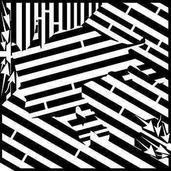 Yonatan Frimer Maze Artist - Gravity Induced Cat Nap Maze