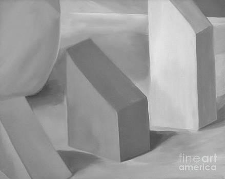 Gray Blocks by Rachel Dunkin