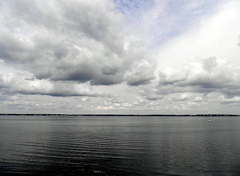 Kate Gallagher - Gray Day on Narragansett Bay