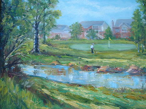 Gray Eagle Golf Course by Holly LaDue Ulrich