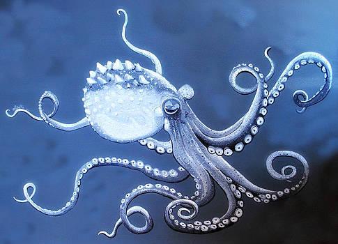 Gray Octopus by Yabette Swank