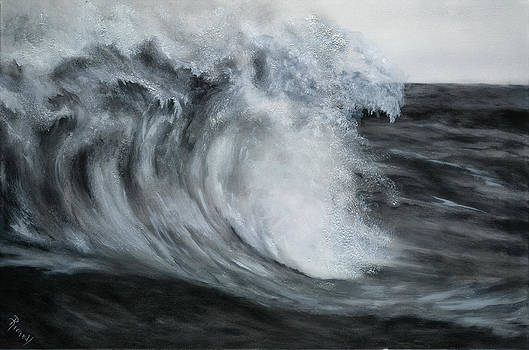 Gray Wave by Suzie Richey