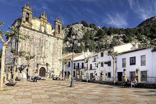 Grazalema Town Hall Square by Goyo Ambrosio