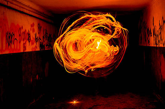Great ball of fire by Georgina Noronha