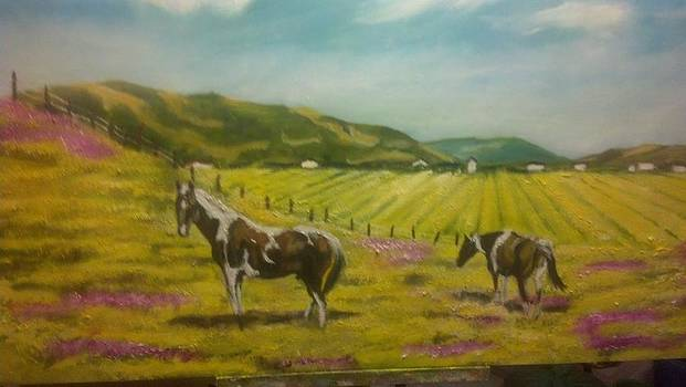 Great day in the mustards by Terrence  Howell